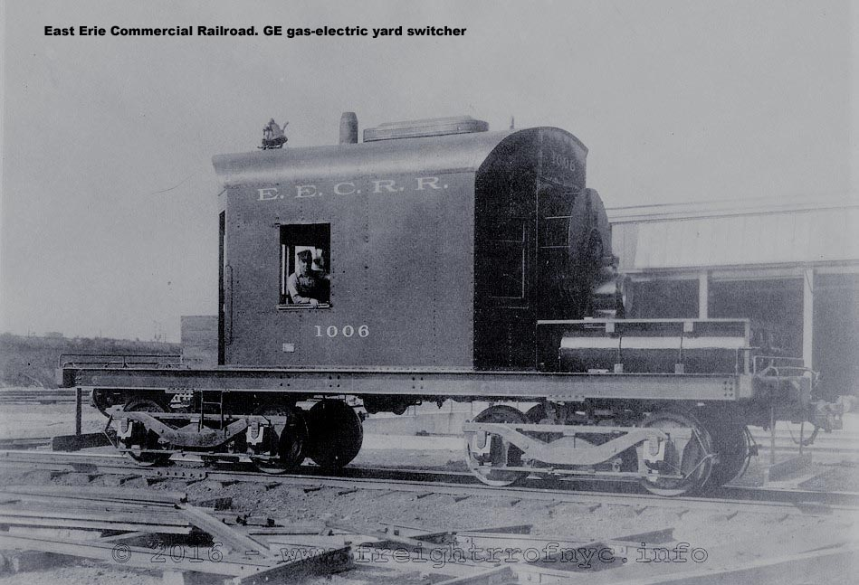 GE gas-electric yard switcher