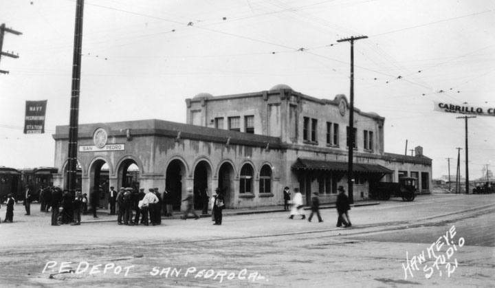Pacific Electric Railway station