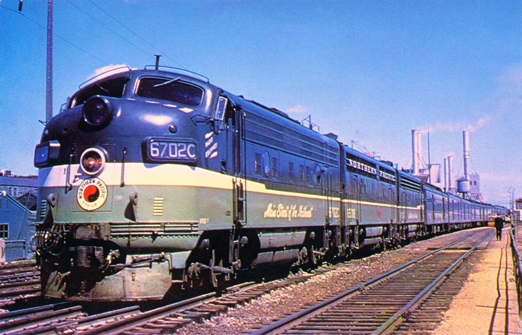 Northern Pacific train