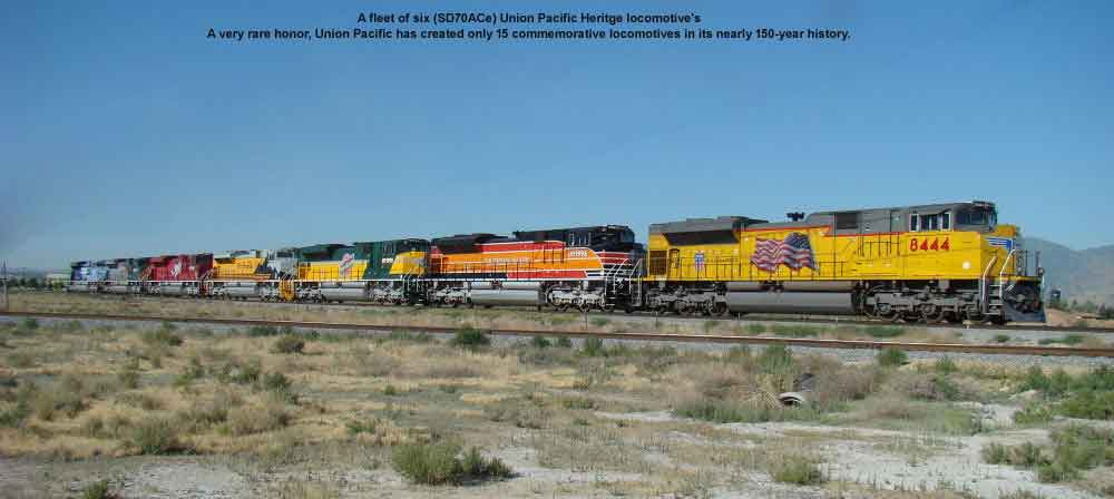 Union Pacific Heritage engines