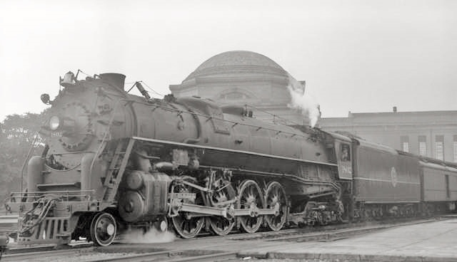 ACL 4-8-4s built by Baldwin Locomotive Works.
